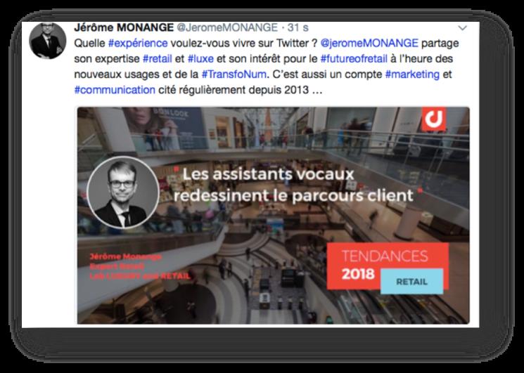 Jérôme Monange Influenceur