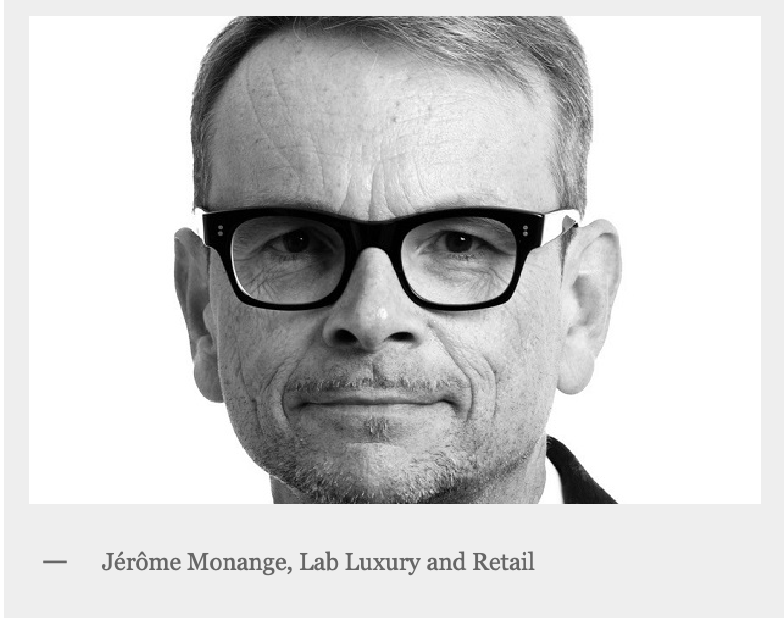 Jérôme Monange- Lab LUXURY and RETAIL ®