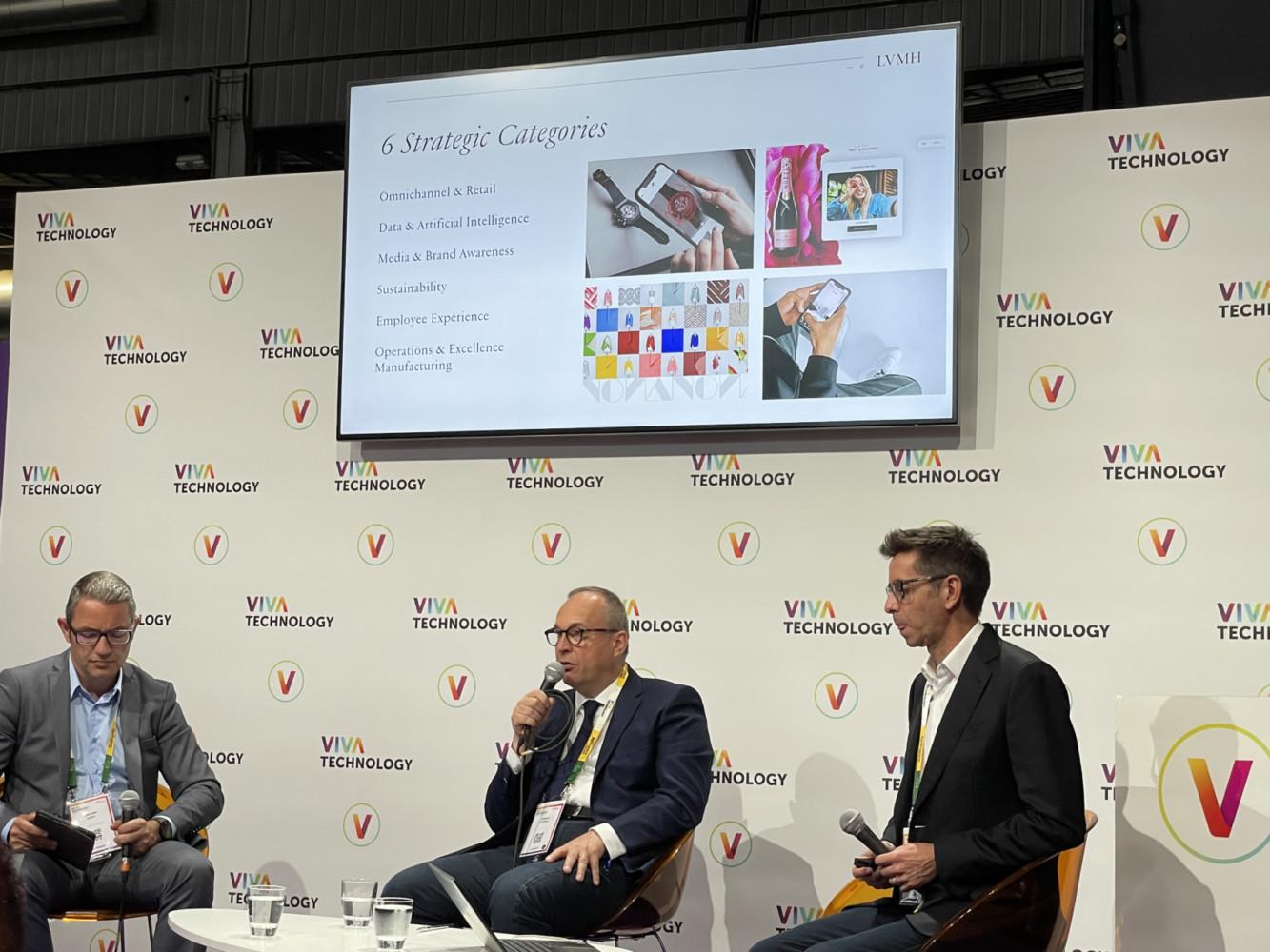 Conférence de presse LVMH - GOOGLE at Vivatech 2021 - Lab Luxury and Retail - 06 2021