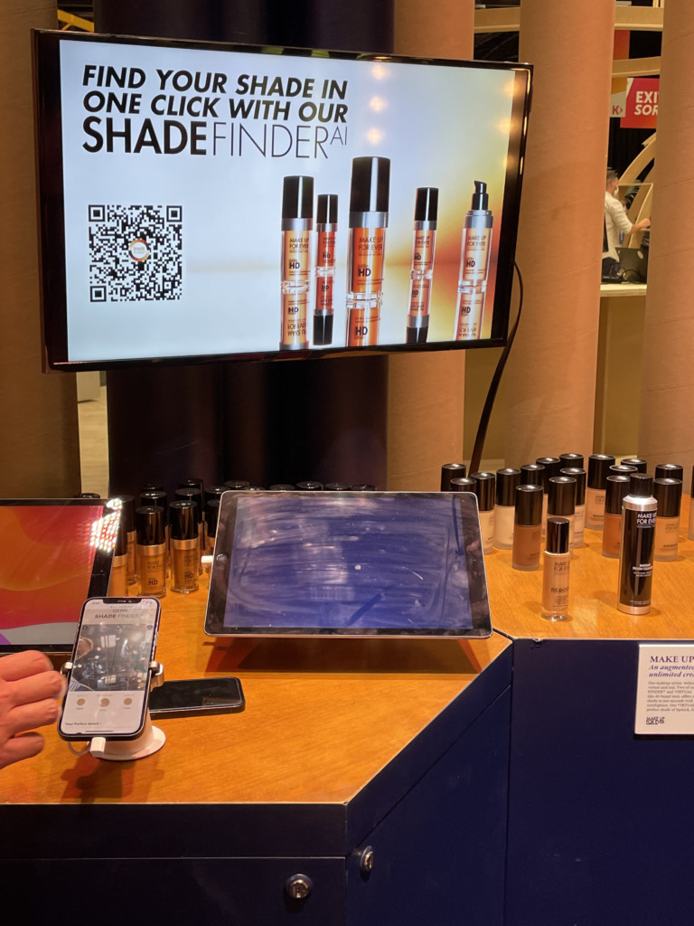 MAKE UP FOR EVER on LVMH stand- Vivatech 2021 - Lab Luxury and Retail